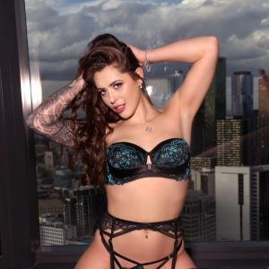 Melbourne escort Alyssa-jade wearing luxury lingerie