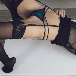 Sydney escorts - Blaire Crawford in stunning lingerie