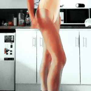 Gold Coast escorts - Lexxxi showing how athletic build she is and that she has the longest legs